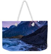 Nature's Sunrise Canvas Weekender Tote Bag