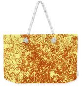 Natures Trees In Brown And Yellow Weekender Tote Bag