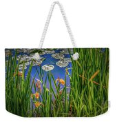 Nature's Window #h5 Weekender Tote Bag by Leif Sohlman