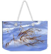 Nature's Winter Abstract #3 Weekender Tote Bag