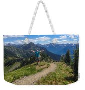 The Hills Are Alive Weekender Tote Bag