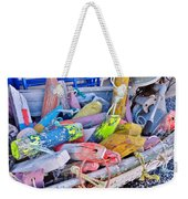 Nautical Riot Of Color Weekender Tote Bag