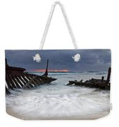 Nautical Skeleton Weekender Tote Bag
