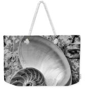 Nautilus Shell With Starfish Weekender Tote Bag
