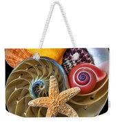 Nautilus With Sea Shells Weekender Tote Bag