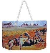 Navajo Ponies Weekender Tote Bag