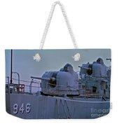 Naval Gun Weekender Tote Bag