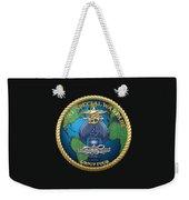 Naval Special Warfare Group Four - N S W G-4 - On Black Weekender Tote Bag