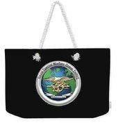 Naval Special Warfare Group Three - Nswg-3 - On Black Weekender Tote Bag