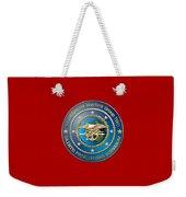 Naval Special Warfare Group Two - N S W G-2 - On Red Weekender Tote Bag