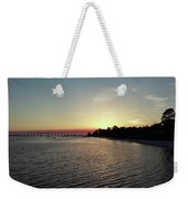 Navarre Florida Sunset Weekender Tote Bag