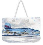 Navy Aircraft Weekender Tote Bag
