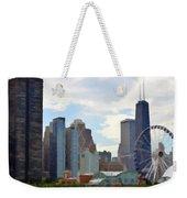 Navy Pier Chicago Illinois Weekender Tote Bag