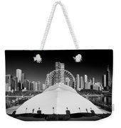 Navy Pier Wheel Weekender Tote Bag