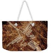 Nazca Hummingbird Weekender Tote Bag