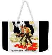 Nazi Allies Anti Soviet Propaganda Poster Circa 1942 Color Added 2016 Weekender Tote Bag