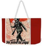 Nazi Propaganda Poster Number 1 Circa 1942 Weekender Tote Bag