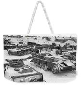 Nazi Tanks On The Outskirts Of Stalingrad 1942 Weekender Tote Bag