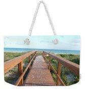 Nc Beach Boardwalk Weekender Tote Bag