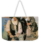 N.c. Wyeth: The Pay Stage Weekender Tote Bag