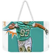 Ndamukong Suh Miami Dolphins Oil Art Weekender Tote Bag