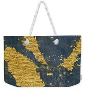 Indochinese Peninsula And Major Islands Of Indonesia Weekender Tote Bag