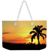 Near Perfect Palm Tree Weekender Tote Bag