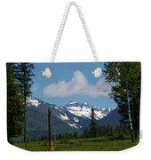 Near Sparwood British Columbia  Weekender Tote Bag
