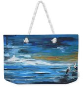 Near The Jetty Weekender Tote Bag