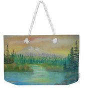 Near To Sunset Weekender Tote Bag