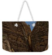 Nearing The Slot Canyon - Tent Rocks Weekender Tote Bag