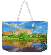 Nearly 2 Million People Rollick In This World-famous City Park Every Year.  Weekender Tote Bag
