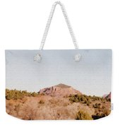 Nearly Deserted Weekender Tote Bag