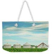Nebraska Corn Weekender Tote Bag