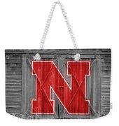 Nebraska Cornhuskers Barn Doors Weekender Tote Bag