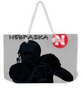 Nebraska Football Weekender Tote Bag
