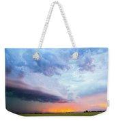 Nebraska Thunderstorm Eye Candy 021 Weekender Tote Bag