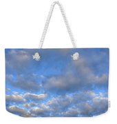 Nebraskan Altocumulus Clouds Weekender Tote Bag