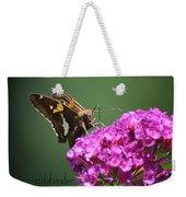 Nectaring Moth Weekender Tote Bag
