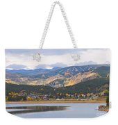 Nederland Colorado Scenic Autumn View Boulder County Weekender Tote Bag
