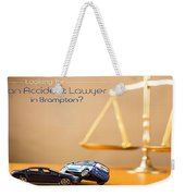 Need Accident Lawyer In Brampton With Successbusinesspages? Weekender Tote Bag