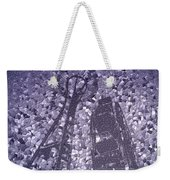 Needle And Ferris Wheel Mosaic Weekender Tote Bag