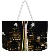 Needle At Night Weekender Tote Bag