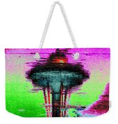 Needle In A Raindrop Stack Weekender Tote Bag