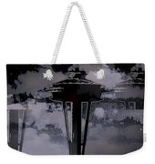 Needle In Flux Weekender Tote Bag