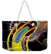 Needle In Fractal 4 Weekender Tote Bag