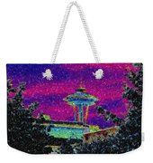 Needle In Mosaic 2 Weekender Tote Bag
