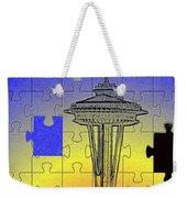 Needle Jigsaw Weekender Tote Bag