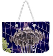 Needle Reflection Weekender Tote Bag