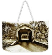 Neff's Mill Covered Bridge - Lancaster County Pa. Weekender Tote Bag